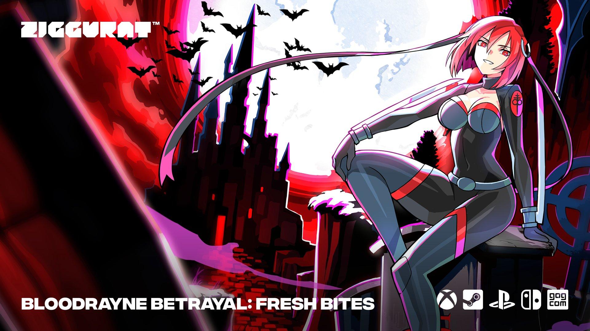 BloodRayne Betrayal: Fresh Bites, постер № 2