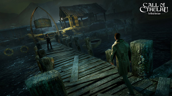 Кадры из игры Call of Cthulhu: The Official Video Game