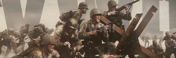 Промо-арт игры Call of Duty: WWII