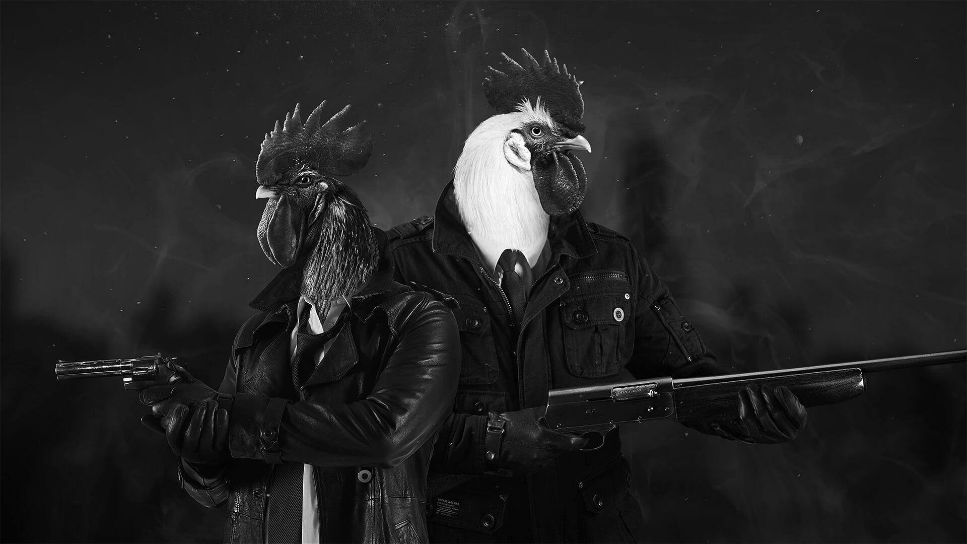 Chicken Police, кадр № 1