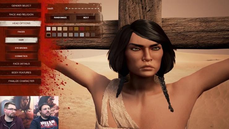 Игра Conan Exiles: Показ геймплея: Первые шаги