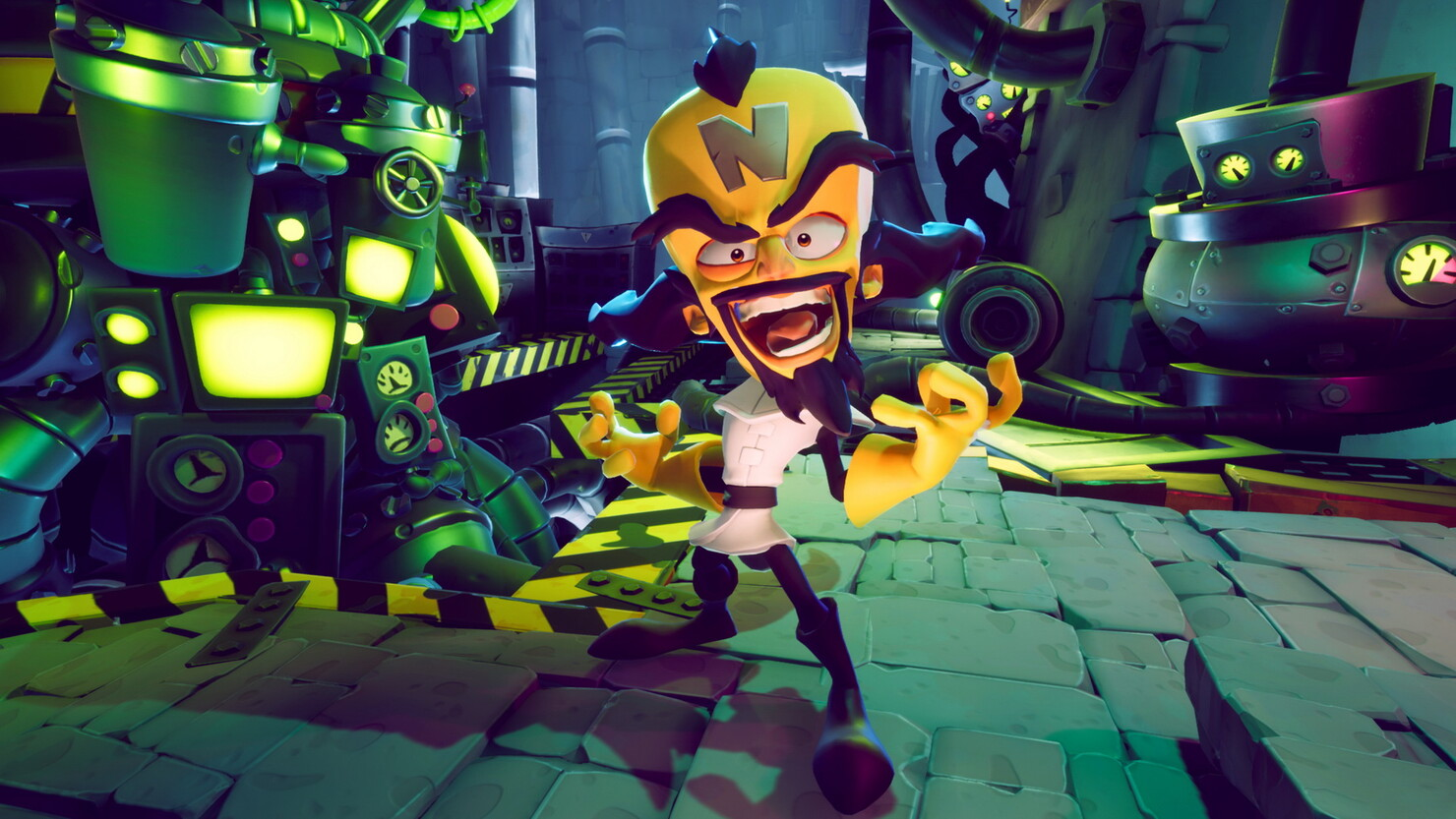 Кадры из игры Crash Bandicoot 4: It's About Time