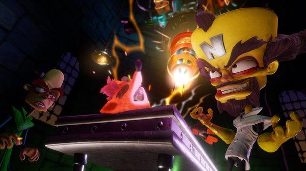 Кадры из игры Crash Bandicoot N. Sane Trilogy