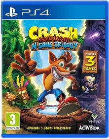 Обложки игры Crash Bandicoot N. Sane Trilogy
