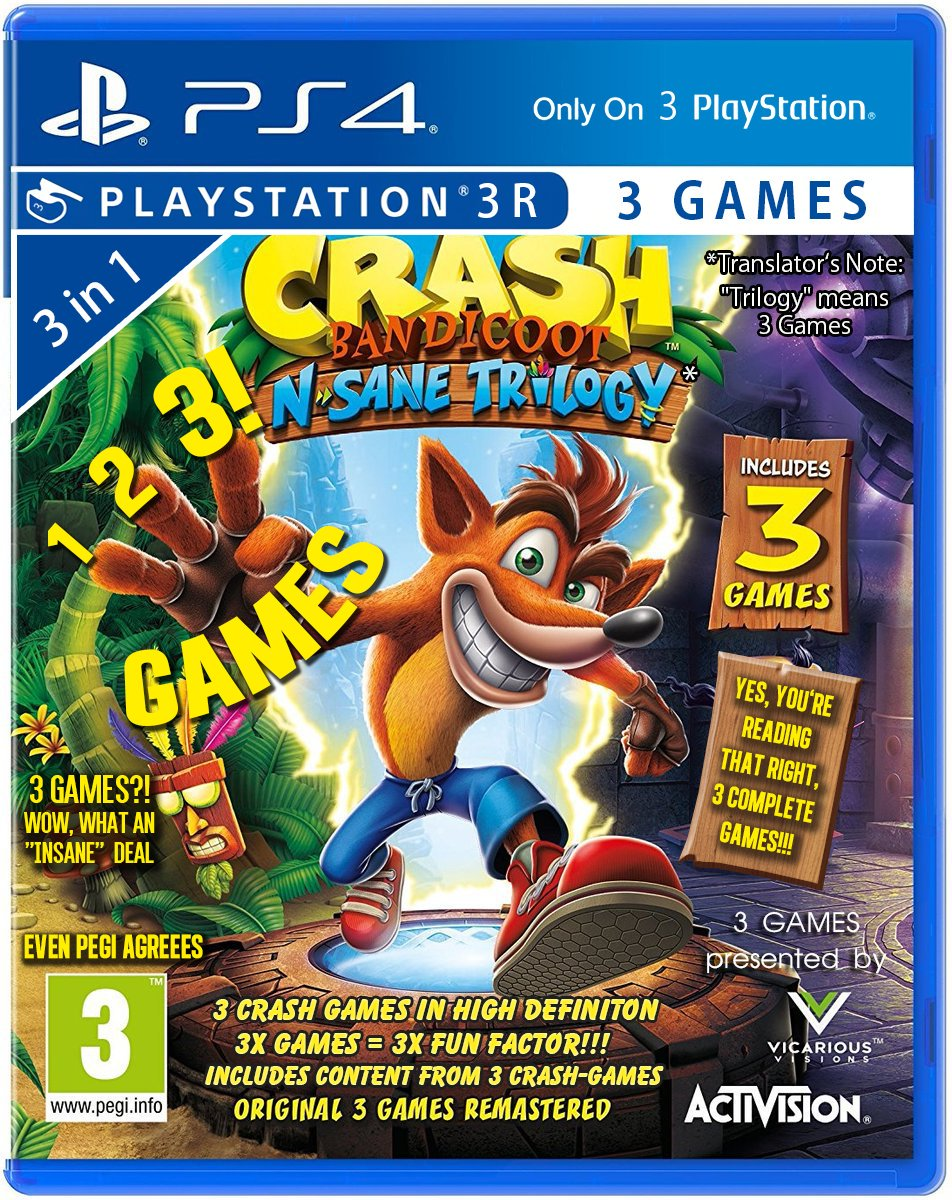 Crash Bandicoot N. Sane Trilogy,  № 5