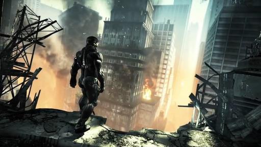 В широкие сети КГ попался отличный трейлер игры Crysis 2, умудряющийся и фи