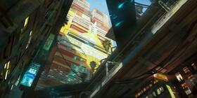 Кадры из игры Cyberpunk 2077