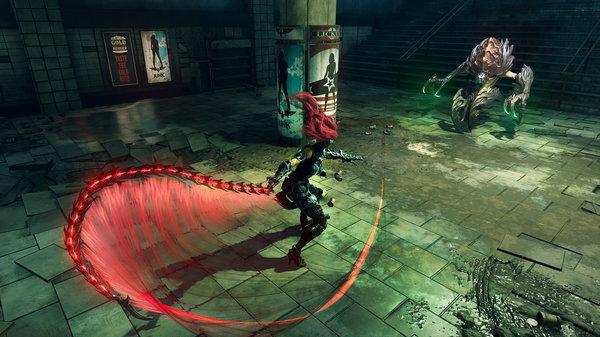 Кадры из игры Darksiders III