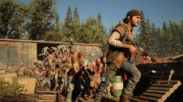 Кадры из игры Days Gone
