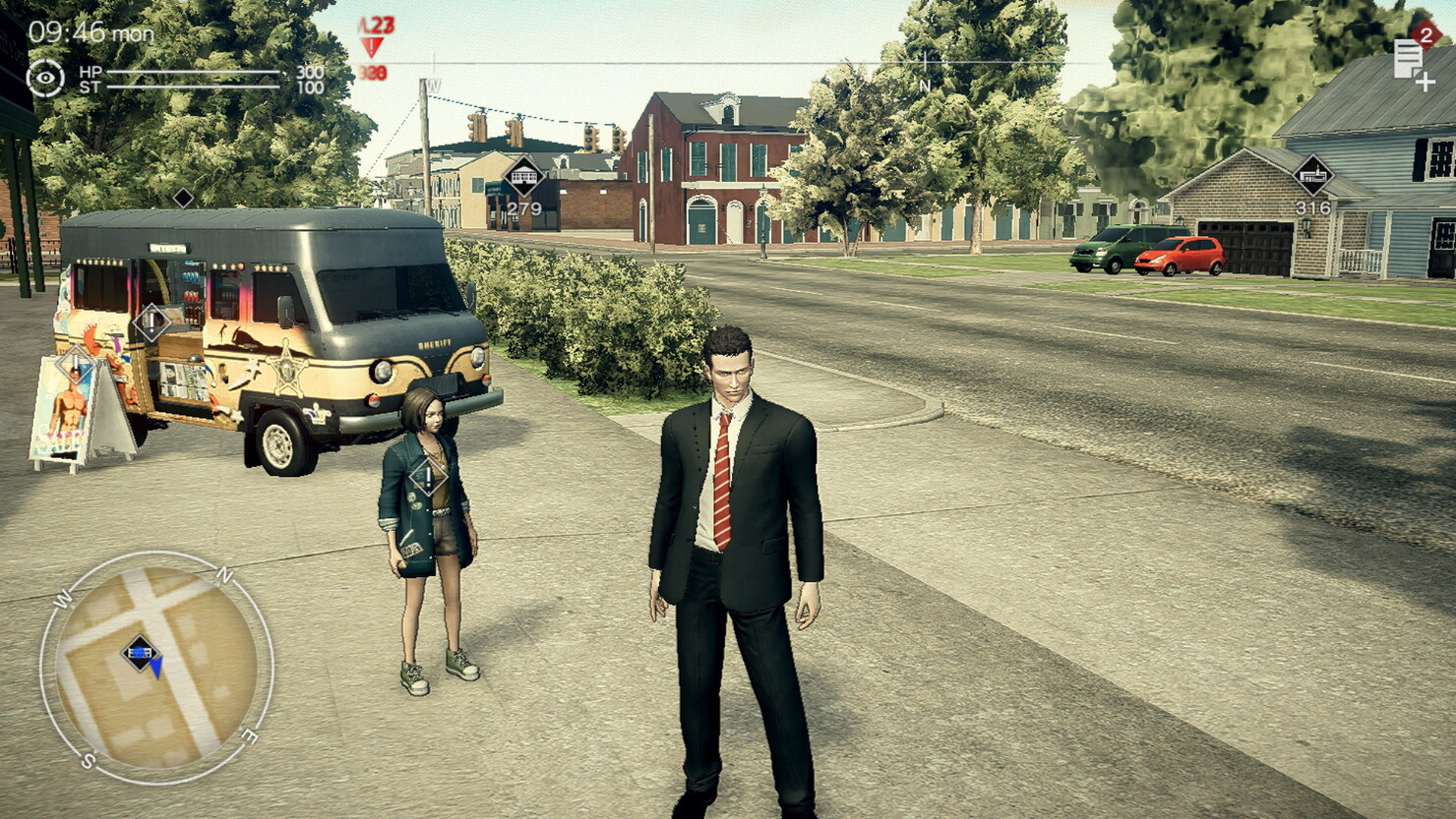 Кадры из игры Deadly Premonition 2: A Blessing in Disguise