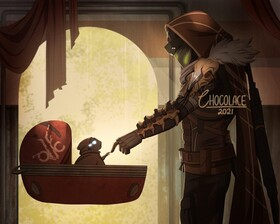 Фанарт игры Destiny 2: Beyond Light