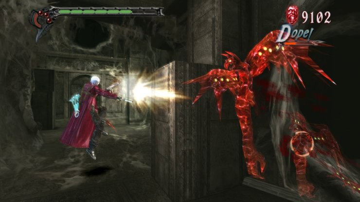 Кадры из игры Devil May Cry HD Collection