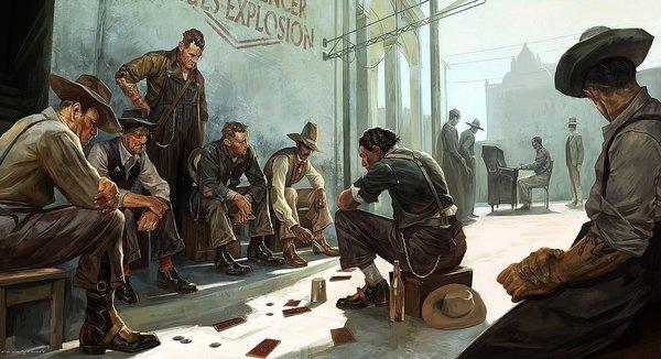 Промо-арт игры Dishonored 2