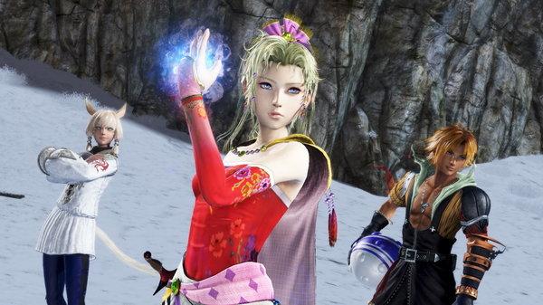 Кадры из игры Dissidia Final Fantasy NT