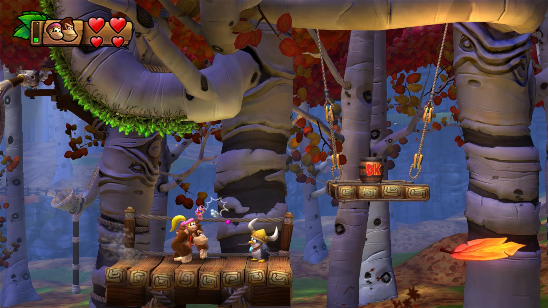 Donkey Kong Country: Tropical Freeze, кадр № 15