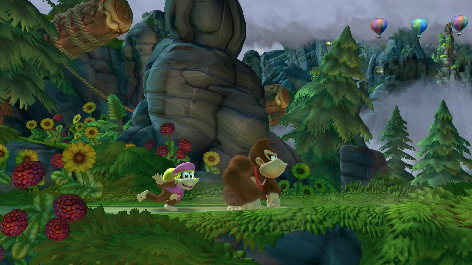 Donkey Kong Country: Tropical Freeze, кадр № 5