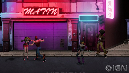 Кадры из Double Dragon: Neon