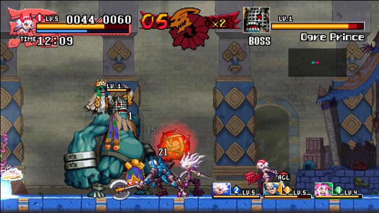 Кадры из игры Dragon: Marked for Death
