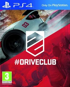Обложки игры DriveClub