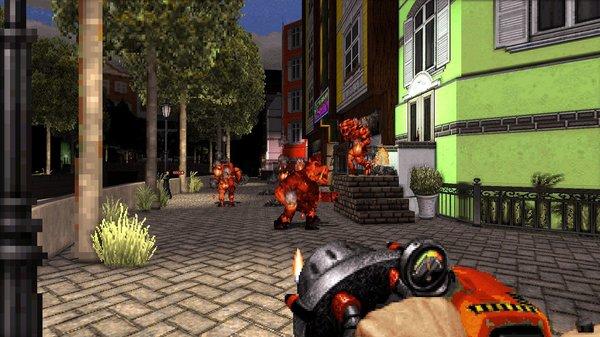 Кадры из игры Duke Nukem 3D: 20th Anniversary World Tour