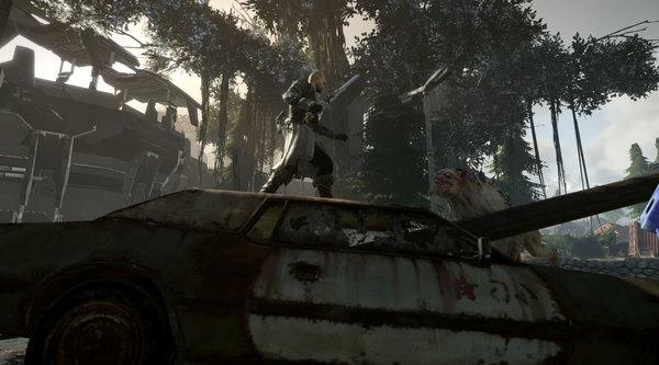 Кадры из игры ELEX