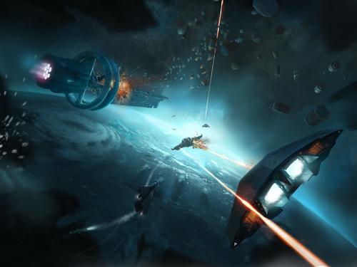 Промо-арт игры Elite Dangerous