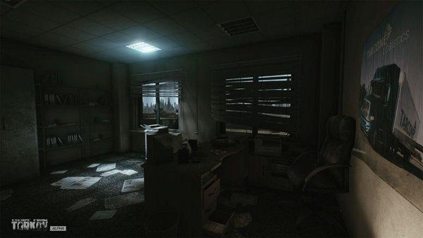Кадры из игры Escape from Tarkov