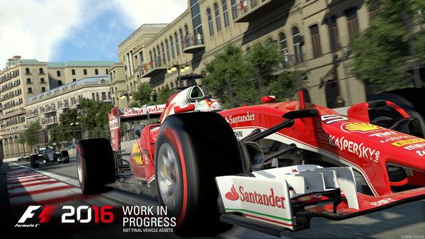 Кадры из игры F1 2016
