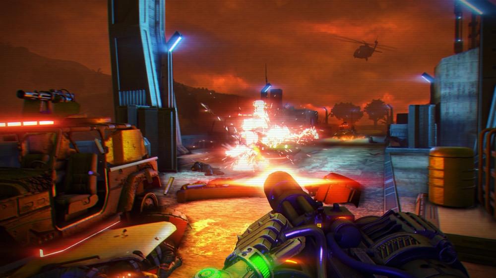 Far Cry 3: Blood Dragon, кадр № 6
