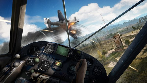 Промо-арт игры Far Cry 5