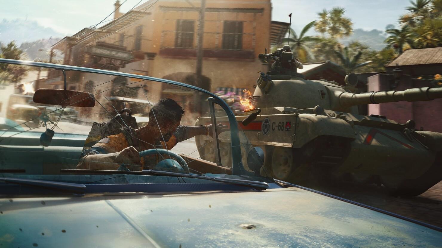 Кадры из игры Far Cry 6