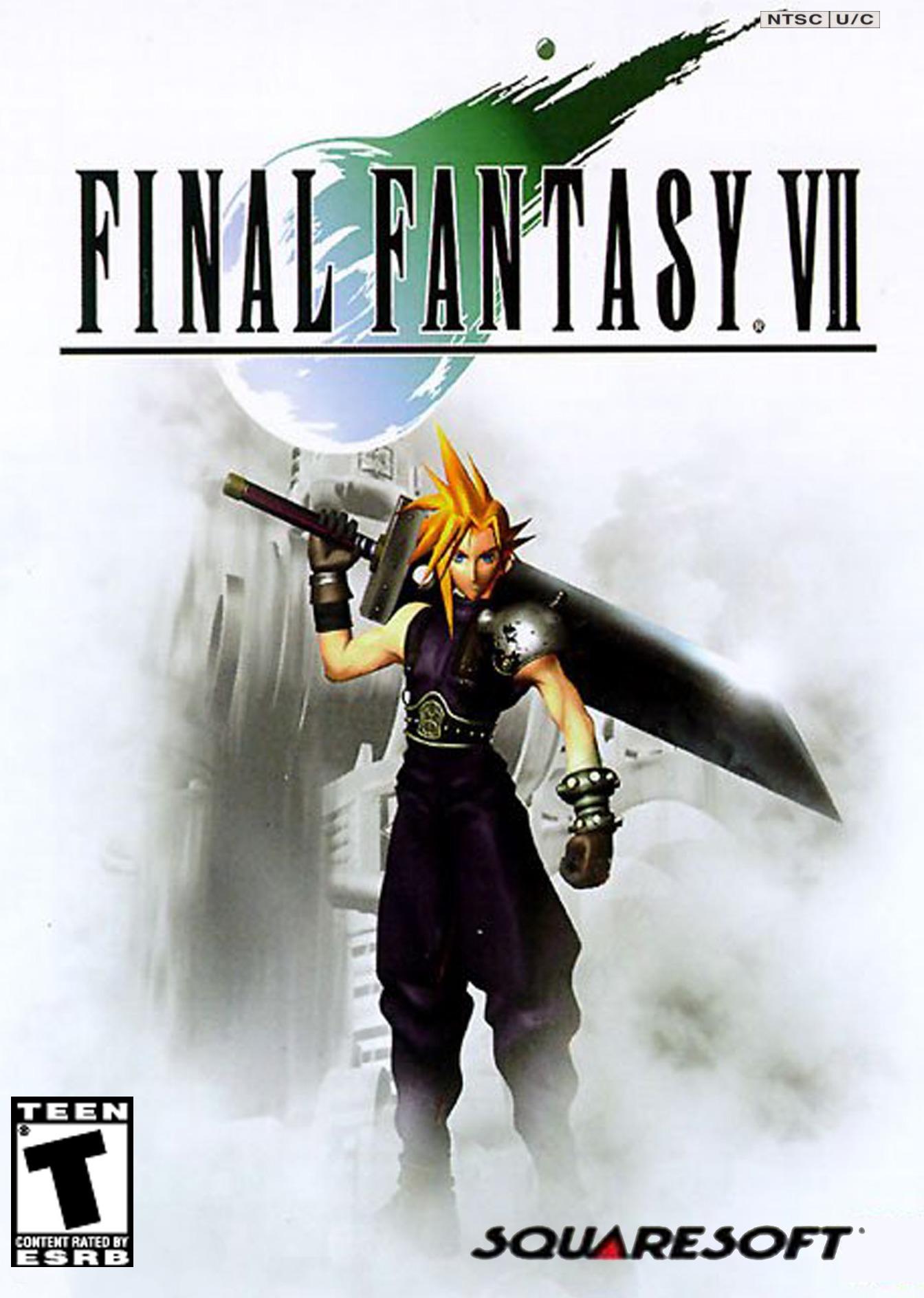 Final Fantasy VII, постер № 1