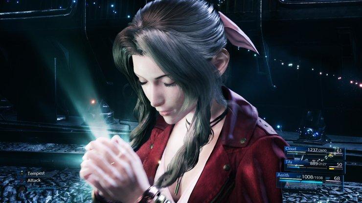 Кадры из игры Final Fantasy VII Remake