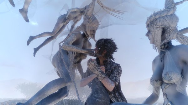 Кадры из игры Final Fantasy XV