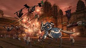 Кадры из игры Fire Emblem Warriors