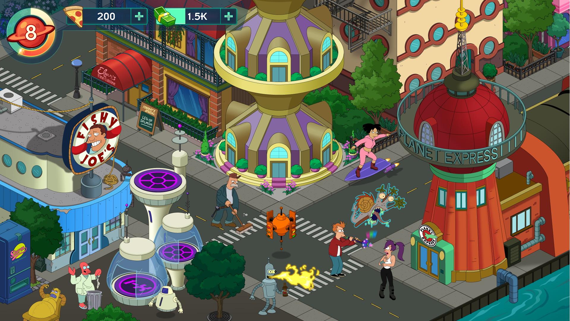 Картинки из игры футурама