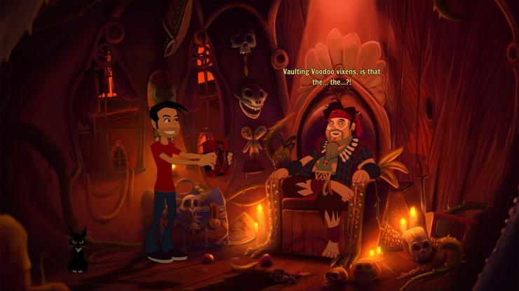 Кадры из игры Gibbous: A Cthulhu Adventure