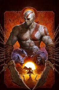 Промо-арт игры God of War
