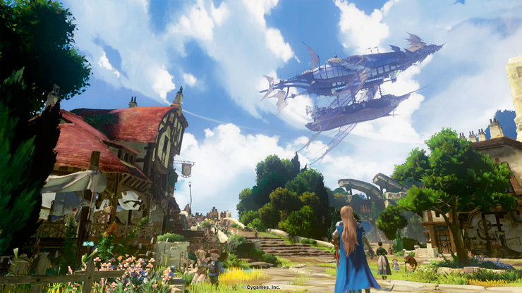 Кадры из игры Granblue Fantasy Project Re: Link