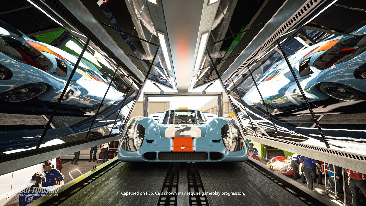 Кадры из игры Gran Turismo 7