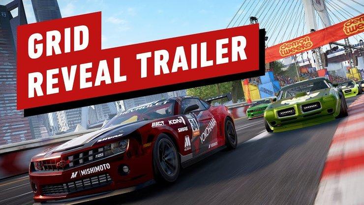 Codemasters анонсировала четвёртую часть гонки GRID