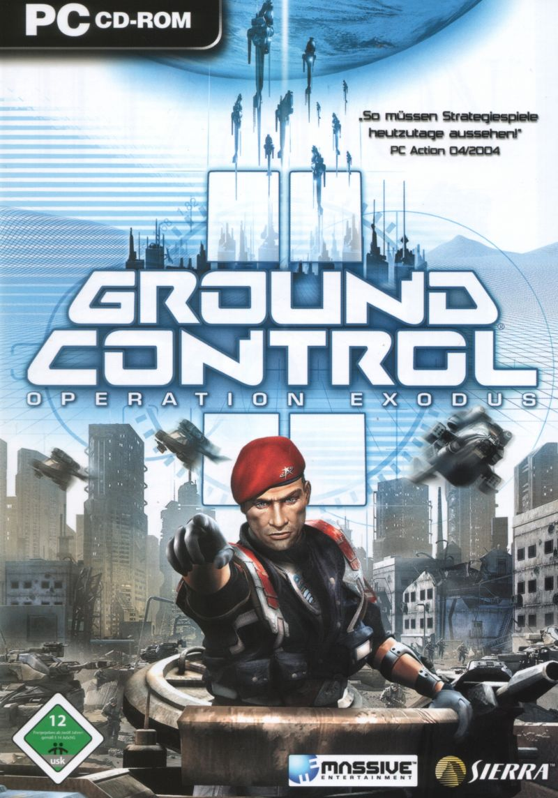 Ground Control II: Operation Exodus, постер № 1