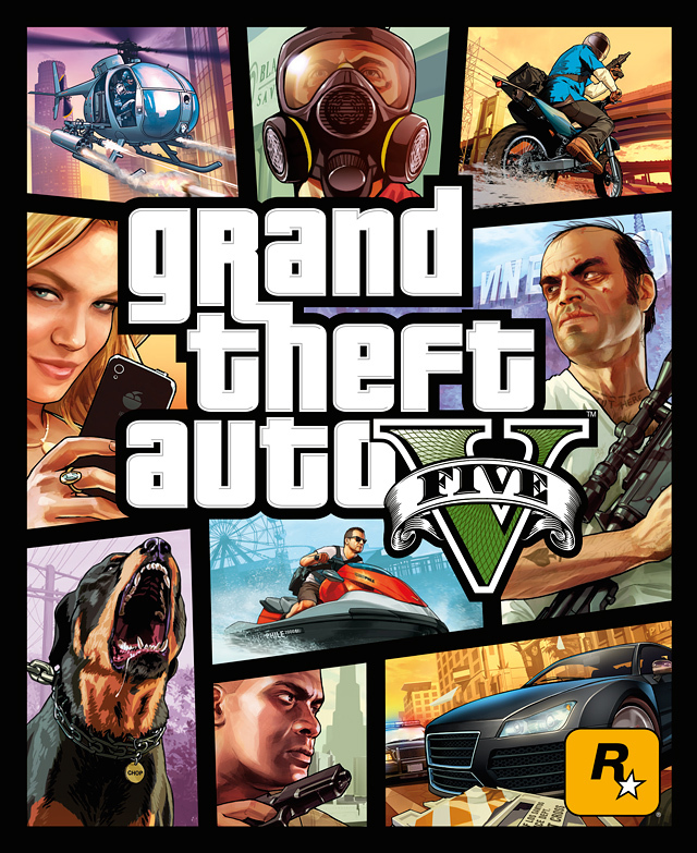 GTA V, постер № 1