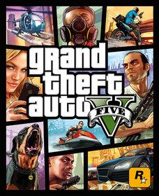 Обложки игры GTA V