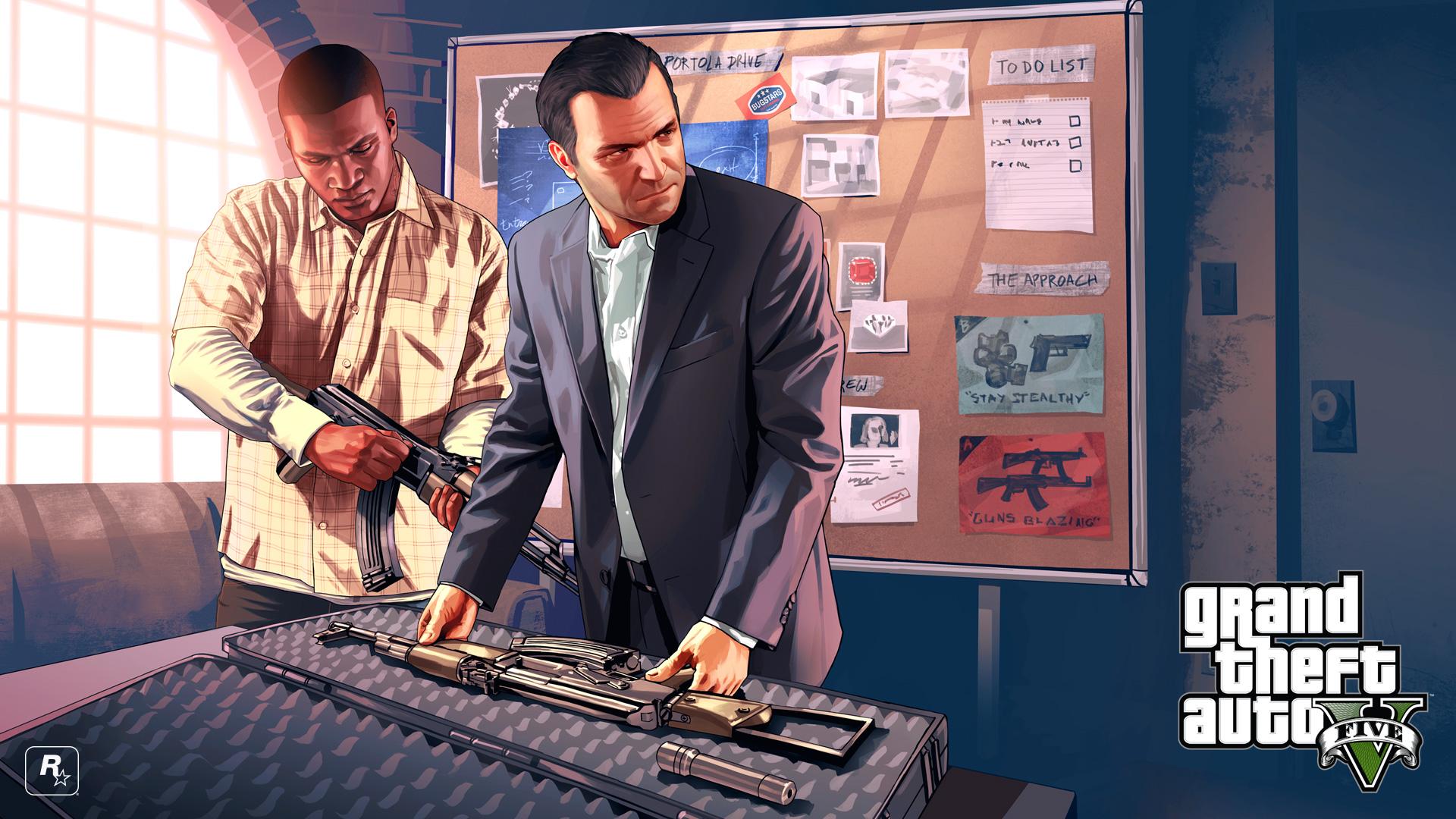 Grand Theft Auto V без регистрации