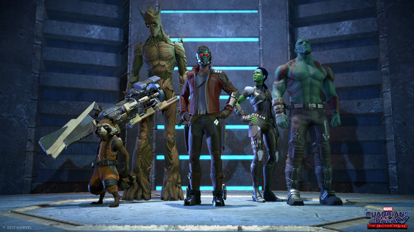 Кадры из игры Guardians of the Galaxy