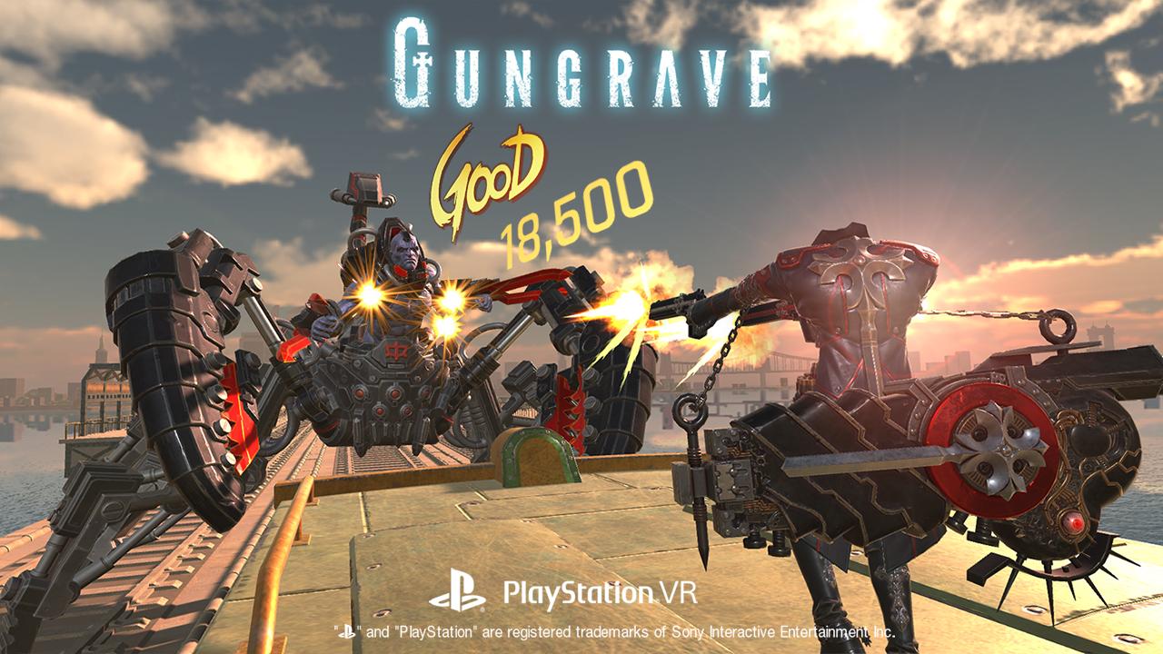 Gungrave VR, кадр № 1