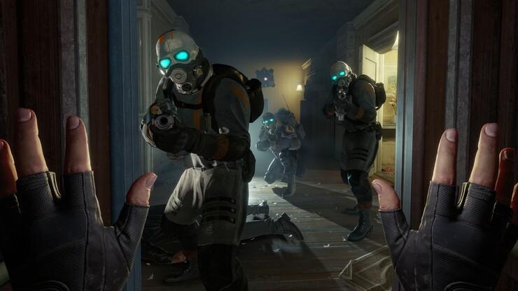 Кадры из игры Half-Life: Alyx