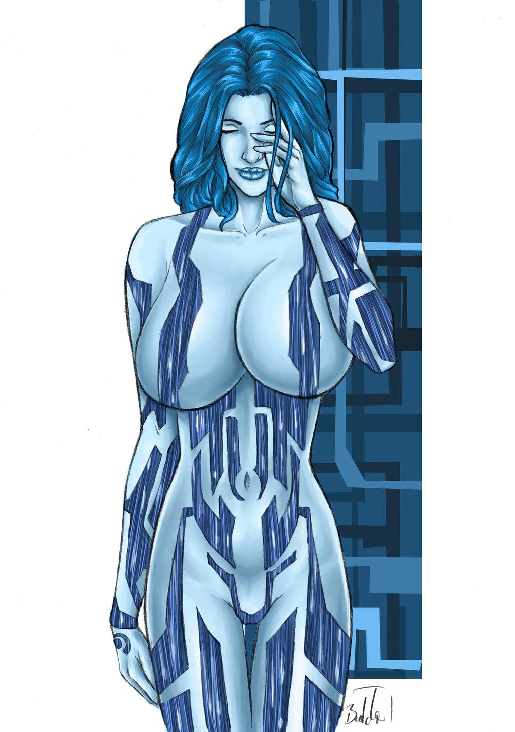 Halo 2 cortana nude sexy images