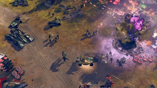 Кадры из игры Halo Wars 2